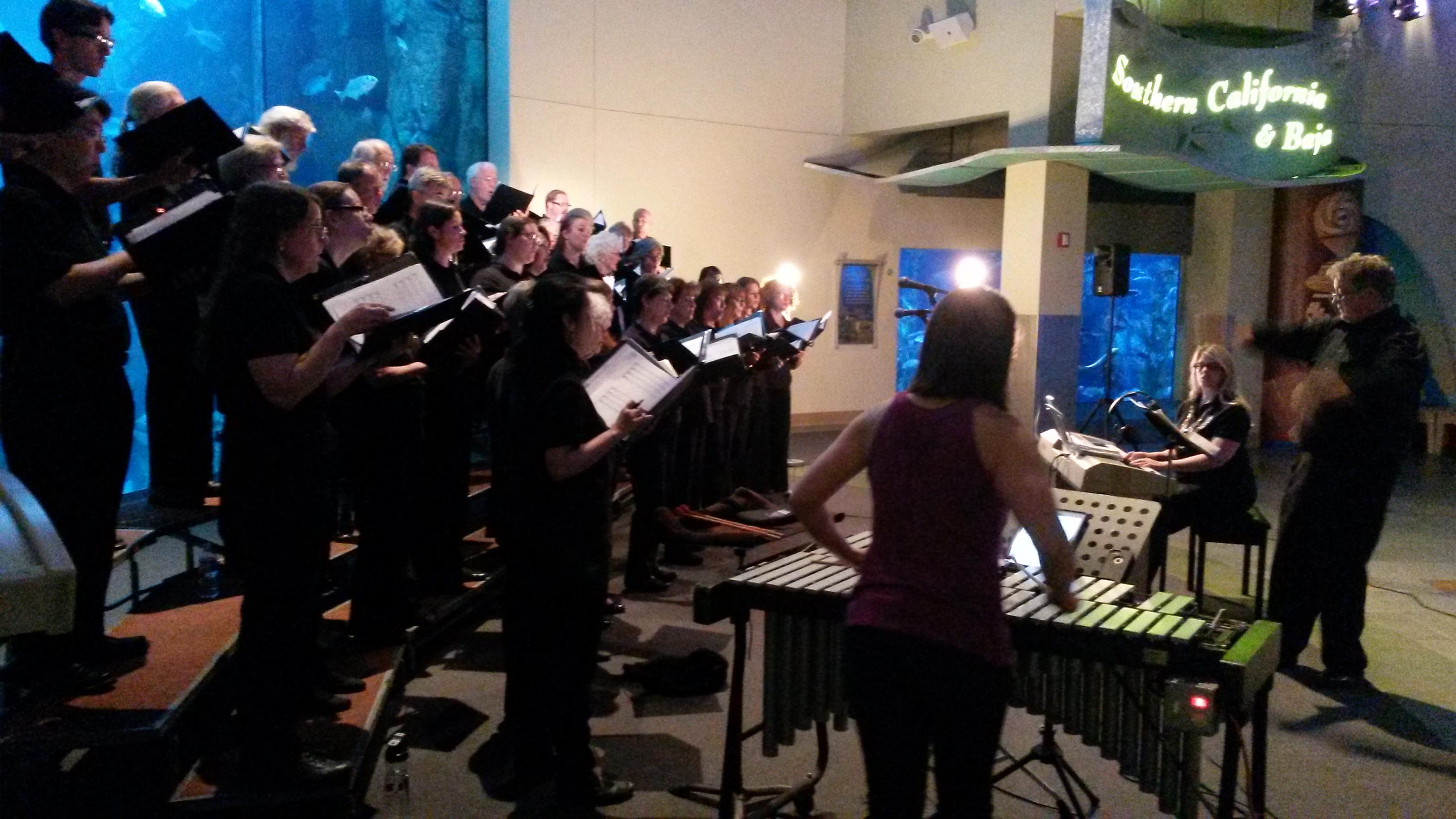 James Freeman Conducts the XXX Choir